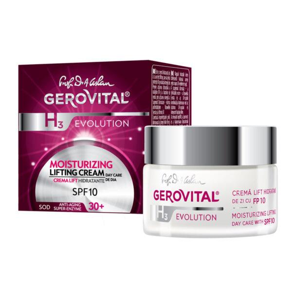Crème Lifting Hydratante - Soin de Jour SPF 10