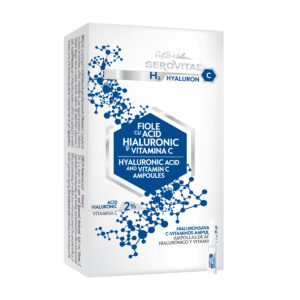 Ampoules d'acide hyaluronique 2% et de vitamine C